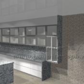 Фасады алюминиевый профиль
